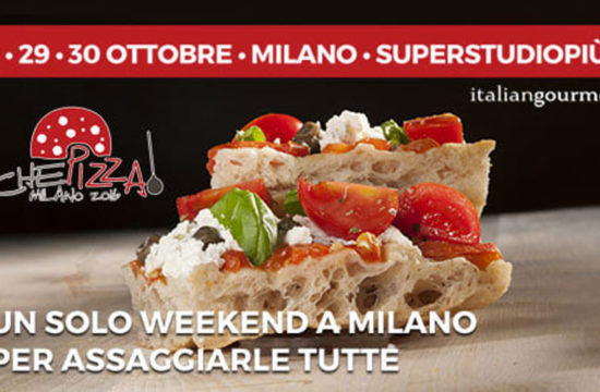 """Dal 28 al 30 ottobre """"Che Pizza!"""": un weekend per assaggiare le pizze gourmet dei grandi maestri"""