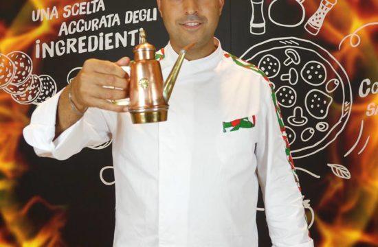 """Francesco Giordano del ristorante pizzeria Serenella nel reality """"Master Pizza Champion"""""""